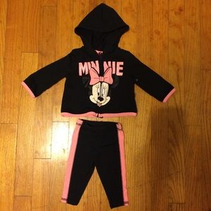 0-3 M Minnie Mouse Outfit